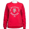 Cover Image for Under Armour Women's Badgers Baseball Tee (Red/Gray) *