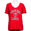 Image for Retro Brand Women's Vault V-Neck T-Shirt (Red) *