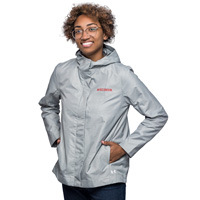 Image For Under Armour Women's Wisconsin Shell Jacket (Grey)