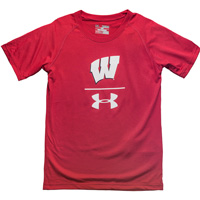 Image For Under Armour Youth UA Sideline T-Shirt (Red) *