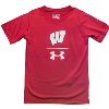 Image for Under Armour Youth UA Sideline T-Shirt (Red)