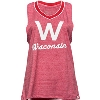Image for Under Armour Women's Wisconsin V-Neck Tank Top (Red) *