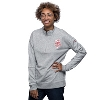 Image for Under Armour Women's Iconic Wisconsin ¼ Zip (Grey)*