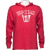 Image for '47 Brand Wisconsin Vault Hooded Long Sleeve T-Shirt (Red)*