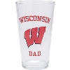 Image for Neil Enterprises, Inc. Wisconsin Dad Pint Glass