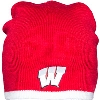 Image for Logofit Wisconsin Knit Winter Hat (Red/White)