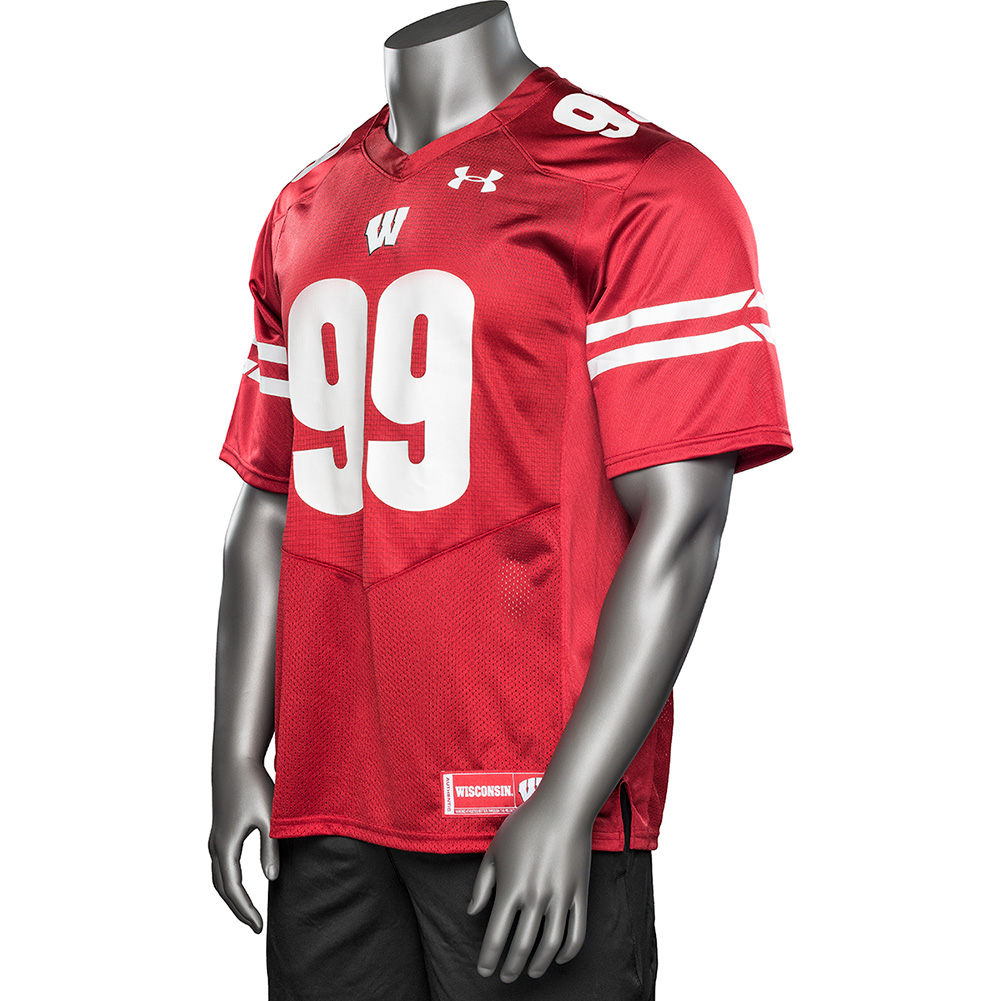 new concept 539c7 2ed24 Under Armour Replica JJ Watt Football Jersey #99 (Red) 3X ...