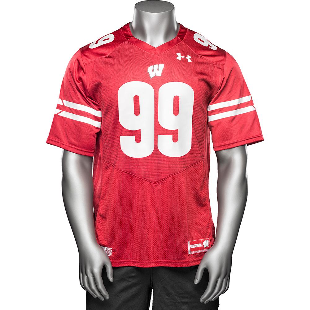 new concept 58442 3c898 Under Armour Replica JJ Watt Football Jersey #99 (Red) 3X ...