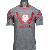 Image for Under Armour Wisconsin Football Helmet T-Shirt (Grey) *