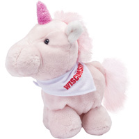Image For Mascot Factory Plush Unicorn Bucky Bandana