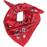Cover Image For ZooZatz Wisconsin Badgers Neckerchief (Red/White/Black)