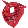 Image for ZooZatz Wisconsin Badgers Neckerchief (Red/White/Black)