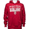 Image for '47 Brand Wisconsin Badgers Hooded Sweatshirt (Red) *