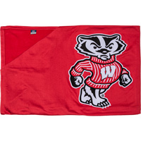 Image For To The Game LLC Bucky Badger Blanket (Red)