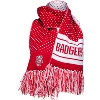 Image for '47 Brand Women's Badgers Dot Scarf (Red/White)