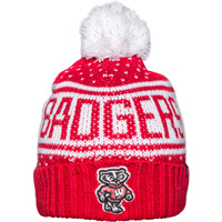 Cover Image For '47 Brand Women's Badgers Dot Hat (Red/White)