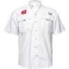 Image for Columbia PFG Wisconsin Button Down Shirt (White) *