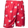 Image for Columbia PFG Wisconsin Motion W Swim Shorts (Red/White) *