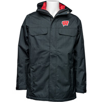 Cover Image For Columbia Wisconsin Men's Bugaboo Interchange Jacket (Black)*