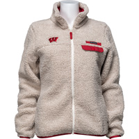 Image For Columbia Women's Wisconsin Mountain Side Fleece (Oatmeal)*