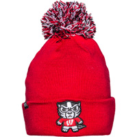 Cover Image For Zephyr Tokyodachi Bucky Badger Knit Hat (Red)