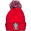 Image for Zephyr Tokyodachi Bucky Badger Knit Hat (Red)