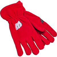 Cover Image For '47 Brand Wisconsin Fleece Gloves (Red)