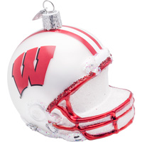 Image For Old World Christmas Wisconsin Helmet Ornament