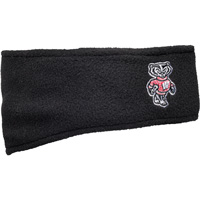 Cover Image For '47 Brand Wisconsin Fleece Headband (Black)