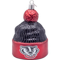 Image For Old World Christmas Wisconsin Knit Hat Ornament