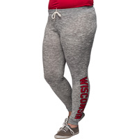 Cover Image For Chick-A-D Women's Wisconsin Joggers (Gray) *