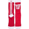 Image for '47 Brand Striped Vault Bucky Over The Calf Sock (Red/White)