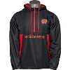 Image for Under Armour Wisconsin ½ Zip Jacket (Black) *