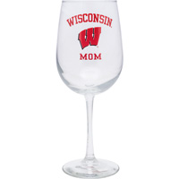 Cover Image For Neil Enterprises, Inc. Wisconsin Mom Wine Glass