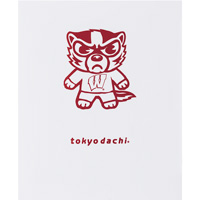 Cover Image For Roaring Spring Tokyodachi Bucky Badger Folder (White)