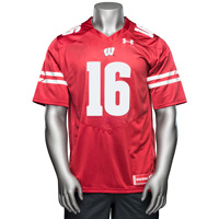 Image For Under Armour Russell Wilson Jersey (Red) 3X