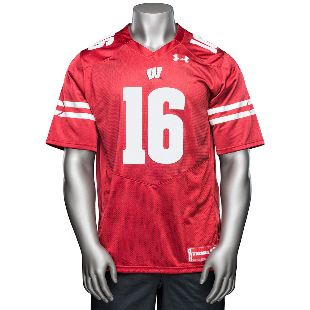 Under Armour Russell Wilson Jersey (Red) 3X | University Book Store