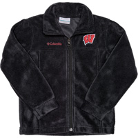 Cover Image For Columbia Youth Wisconsin Flanker Fleece (Black) *