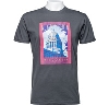 Cover Image for Drink Wisconsinbly Baseball Blue T-Shirt (Vintage Blue)