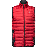 Image For Columbia Wisconsin Reversible Vest (Red/Black) *