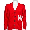 Image for Hillflint Knit Button Down Vault W Cardigan (Red)