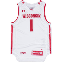 Cover Image For Under Armour Youth WI Replica Basketball Jersey (White)