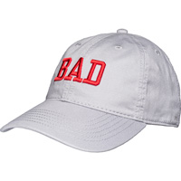 90537ac5b04 Image of Legacy Adjustable Badgers Hat (Silver Grey)