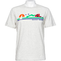Cover Image For Blue 84 America's Dairyland T-Shirt (Cream)