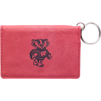 Image For LXG Inc. Bucky Badger ID Holder (Red)