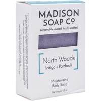 Image For Madison Soap Co. North Woods Indigo + Patchouli Soap