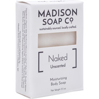 Image For Madison Soap Co. Naked Unscented Soap