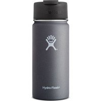 Image For Hydro Flask 16 oz Wide Mouth Coffee Flask (Gray)