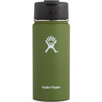 Image For Hydro Flask 16 oz Wide Mouth Coffee Flask (Olive)