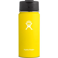 Image For Hydro Flask 16 oz Wide Mouth Coffee Flask (Lemon Yellow)
